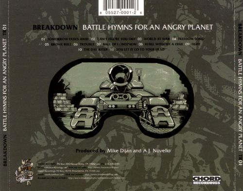Battle Hymns for an Angry Planet