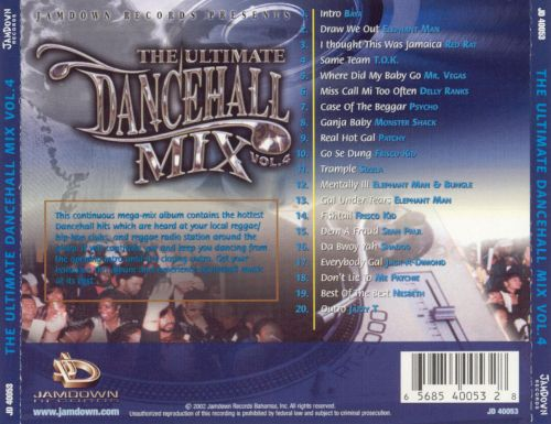 The Ultimated Dancehall Mix, Vol. 4