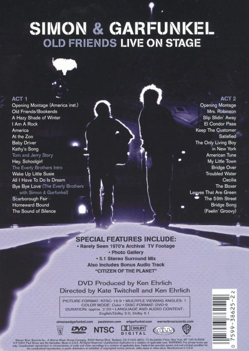 Old Friends: Live on Stage [DVD]