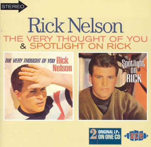 Very Thought of You/Spotlight on Rick