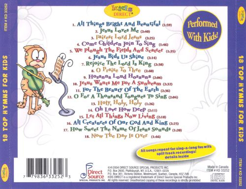 18 Top Hymns for Kids