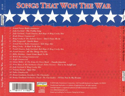 Songs That Won the War: I'll See You in My Dreams