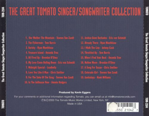 The Great Tomato Singer Songwriter Collection