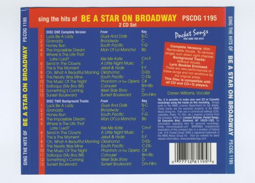 Karaoke: You Sing the Hits - Be a Star on Broadway