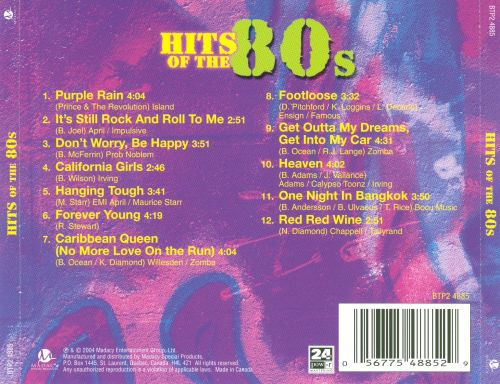 Hits of the 80's - Disc 2