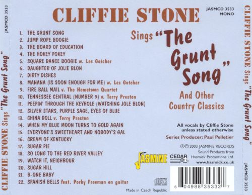 The Grunt Song and Other Country Classics