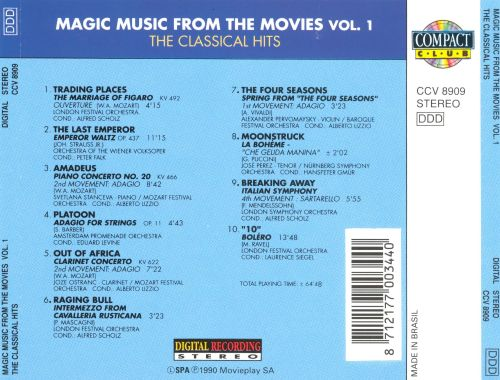 Magic Music from the Movies, Vol. 1