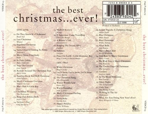 the best christmas ever 1998 - Best Christmas Cd
