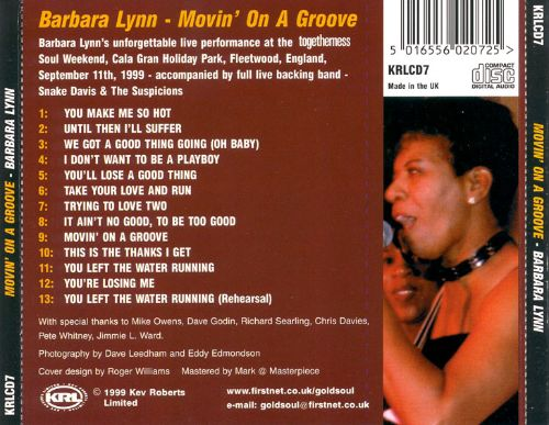 Movin' on a Groove: Live in Concert