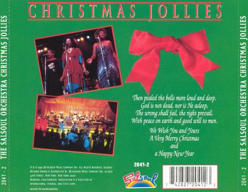 Christmas Jollies - The Salsoul Orchestra | Songs, Reviews ...