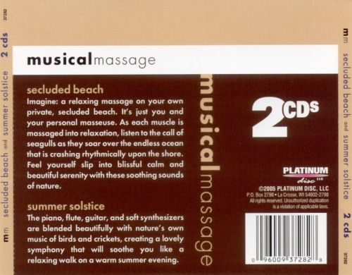 Musical Massage: Secluded Beach and Summer Solstice
