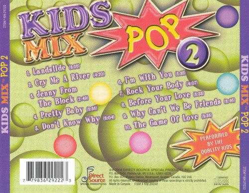 Kids Mix Pop 2