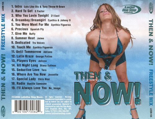 Then and Now: Freestyle Mix, Vol. 1
