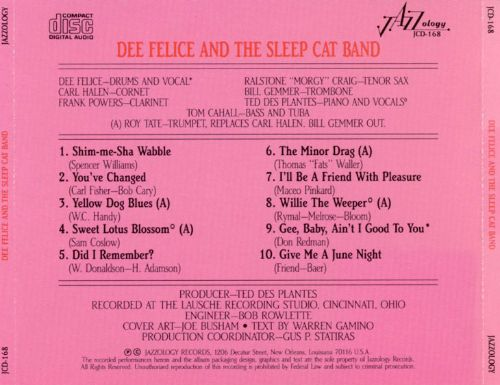Dee Felice and the Sleep Cat Band