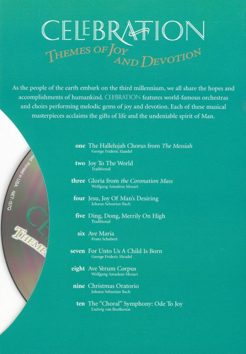 Celebration: Themes of Joy and Devotion [BMG Greeting Card CD]