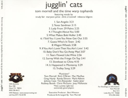 How the West Was Swung, Vol. 11: Jugglin' Cats