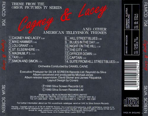Cagney & Lacey and Other American Television Themes