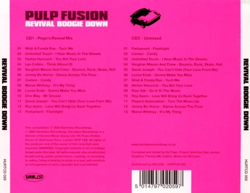 Pulp Fusion: Revival Boogie Down