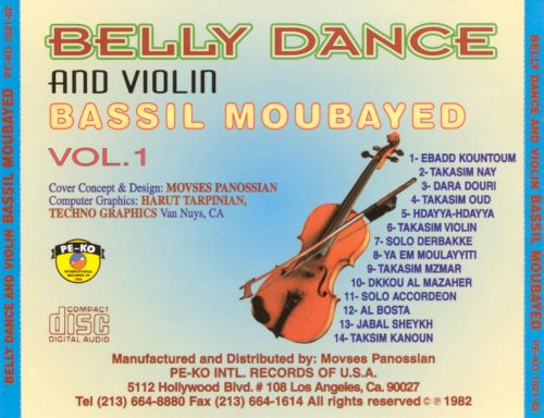 Belly Dance and Violin, Vol. 1