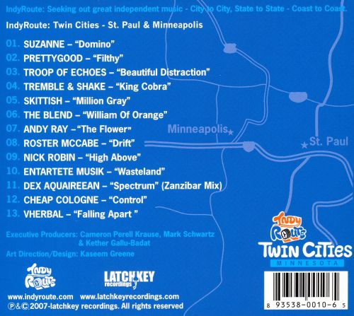 Indyroute: Twin Cities