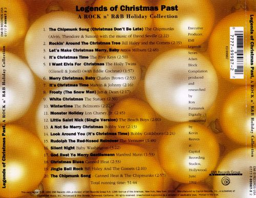 Legends of Christmas Past: A Rock n' R&B Holiday Collection