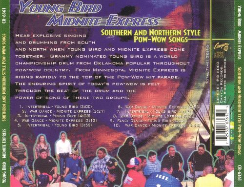 Southern and Northern Style Pow-Wow Songs
