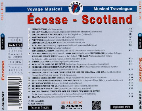 Scotland Musical Travelogue