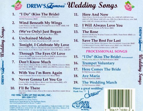 Drew's Famous Wedding Songs [1996]