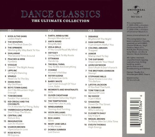 Dance Classics: The Ultimate Collection [Universal International]