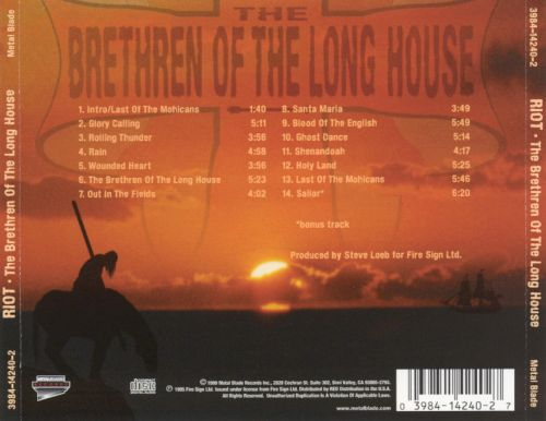 The Brethren of the Long House