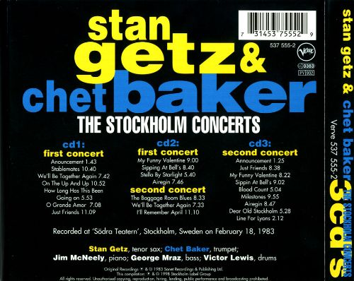 The Stockholm Concerts