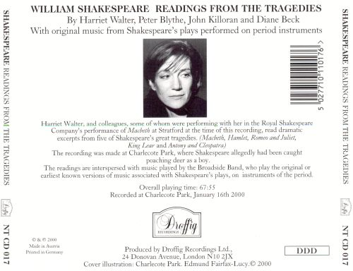 William Shakespeare Readings from the Tragedies