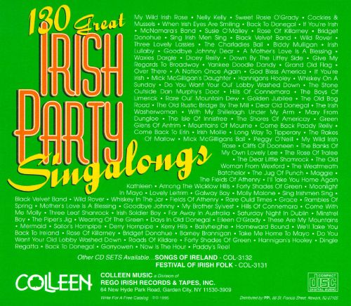 130 Great Irish Party Singalongs