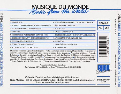 France: Traditional Music of Berry