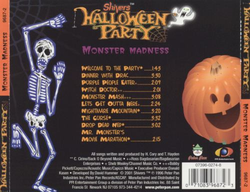 Shivers: Monster Mash Party