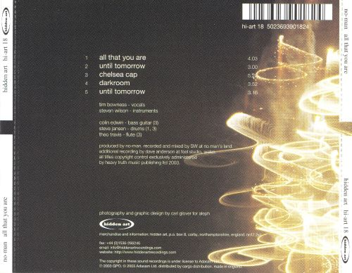 All That You Are [UK EP]