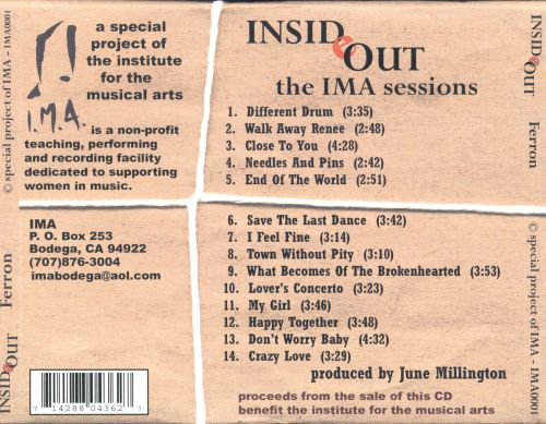 Inside Out: The IMA Sessions