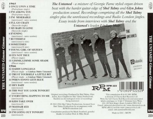 Gimme Gimme: Singles and Unreleased Rarities 1965-1966