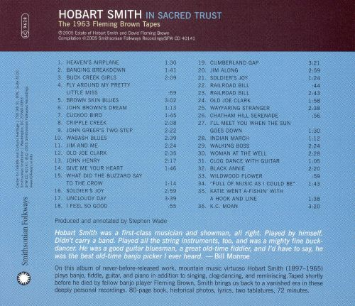 In Sacred Trust: The 1963 Fleming Brown Tapes