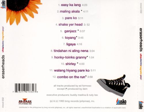 Ultraelectromagneticpop The Eraserheads Songs Reviews Credits
