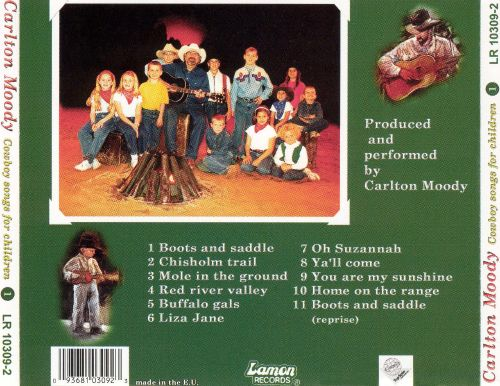 Cowboy Songs for Children