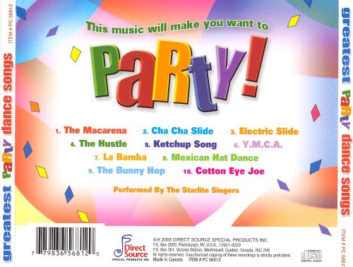 Greatest Party Dance Songs