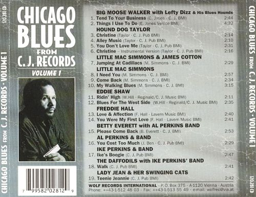 Chicago Blues from C.J. Records, Vol. 1