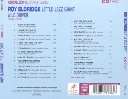 Little Jazz Giant: Wild Driver (1944-1950)