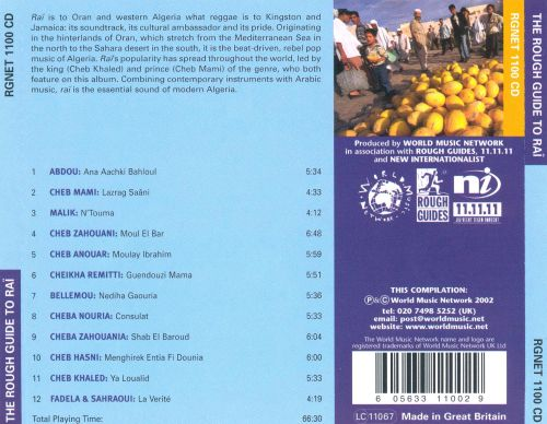 The Rough Guide to Raï