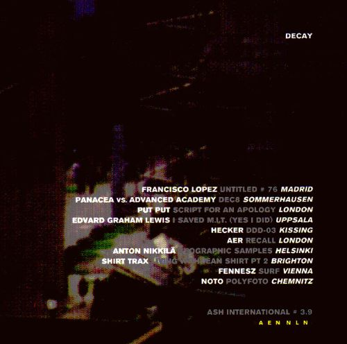 Decay: The European Compilation
