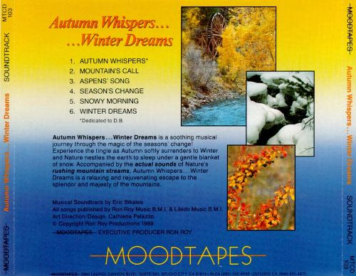 Autumn Whispers...Winter Dreams