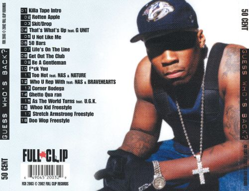 Guess Whos Back - 50 Cent  Songs, Reviews, Credits -2741