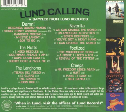 Lund Calling: New Music from Sweden