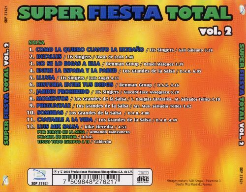 Super Fiesta Total, Vol. 2